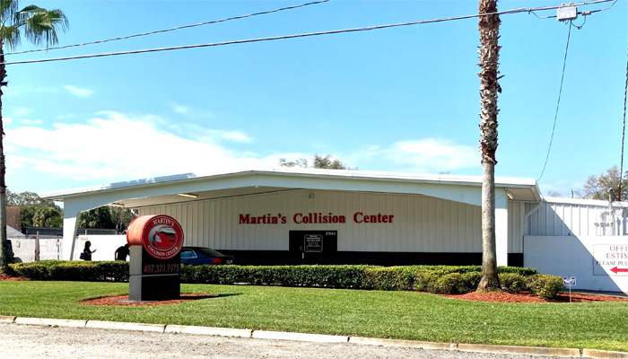 Martin's Collision Center building