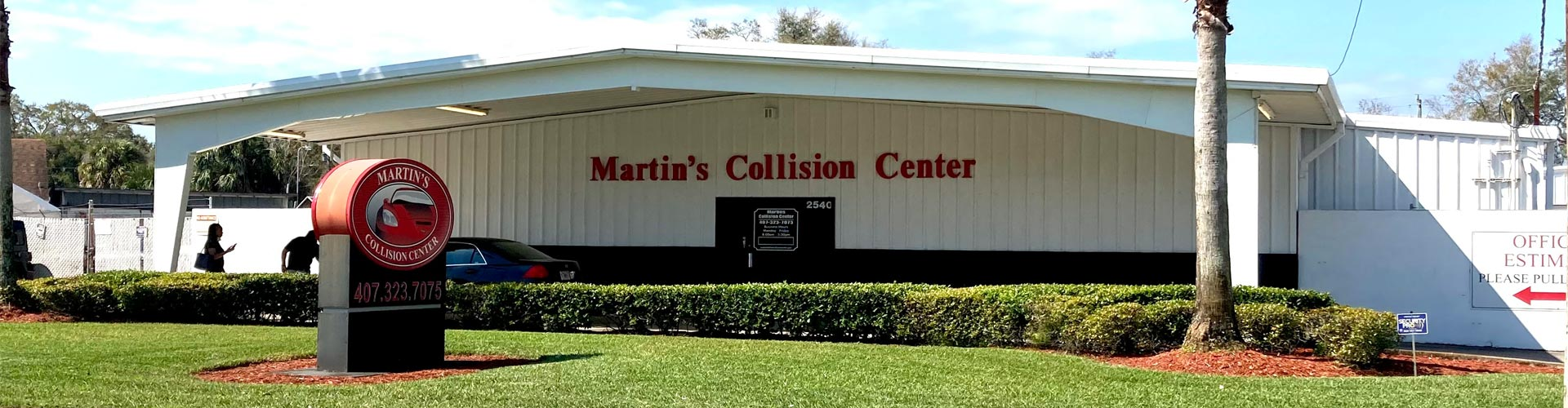 Martin's Collision Center building