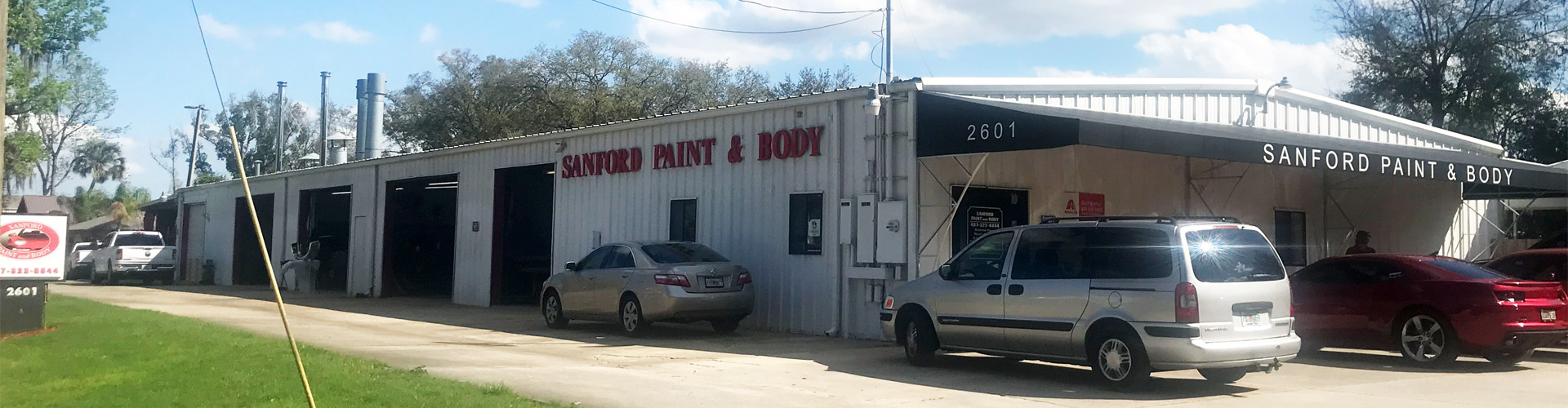 Sanford Paint & Body building
